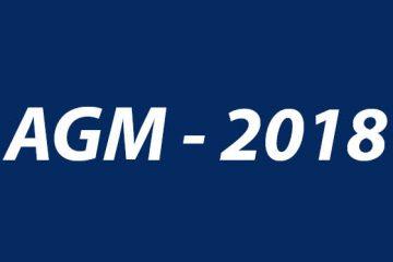 AGM 2018