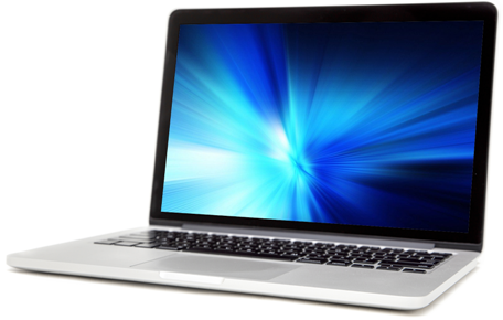 online banking laptop